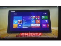 P/EX FOR MACBOOK AIR...LENOVO HORIZON 2S 19.5 INCH ALL IN ONE PC / TABLET PLUS CASH FOR YOU!