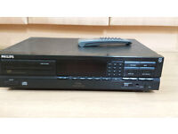 Philips CD618 Compact disc player.