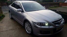 Mazda 6 mps 18 alloys x5 wheels fresh refurb good tyres