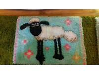 New Handmade wool rug or Picture