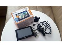 "SAT NAV Garmin nuvi 55 LM, 5"" LCD Touch Screen, UK/Ireland Lifetime Map Updates"