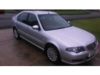 Superb Rover 45 Club SE ONLY 53K MILES FULL SERVICE HISTORY..NEW HEAD GASKET..2 OWNERS FROM NEW!.