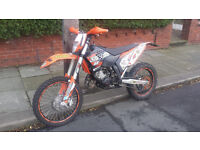 ROAD LEGAL 2009 plate Ktm 125 exc six days px welcome 125 250 450 ??