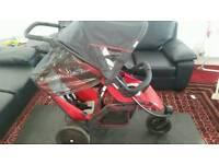Double Pushchair / Pram / Stroller