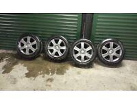 """16"""" Volkswagen alloy wheels and tires"""