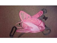 Pink LittleLife Toddler Butterfly Wings daysack rucksack backpack with reign rein