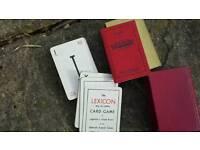 Waddingtons Lexicon card game