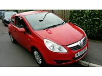 Vauxhall Corsa Life, 1.0 petrol, 3 door hathback, 2009 in red, LPG fiited with 12 months MOT