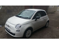 WHITE FIAT 500 FOR SALE LONG MOT+++LOOKING FOR QUICKSALE