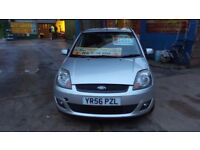 FORD FIESTA FREEDOM 1.2 PETROL 56 PLATE 5 DOOR HATCH FULL HISTORY 12 MONTHS MOT