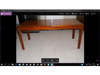 Sliding WoodenTop Coffee Table