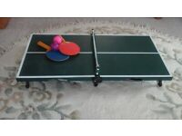 Mini ping pong game set