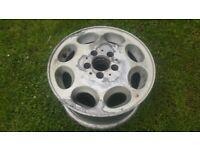 Mercedes classic 8 hole alloy wheel