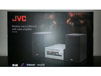 JVC UX-D100 Wireless Traditional Hi-Fi System - USB Connector