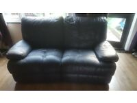 Recliner Sofa worn in places still lots of life left veiwing welcome need gone asap