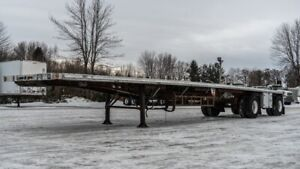 2005 FONTAINE 48' FLAT BED COMBO