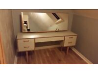 Upcycled beautiful vintage Stag dressing table