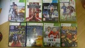 Xbox 360 mixed games collection great gift