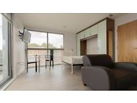 **STUDIO FLAT AVAILABLE** NEW BUILD! INC HOT WATER, HEATING & TV LICENCE! FLAT SCREEN TV! HOXTON, N1