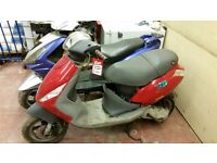 50cc Piaggio Zip Scooter, spares or repair (engine is running) no log book