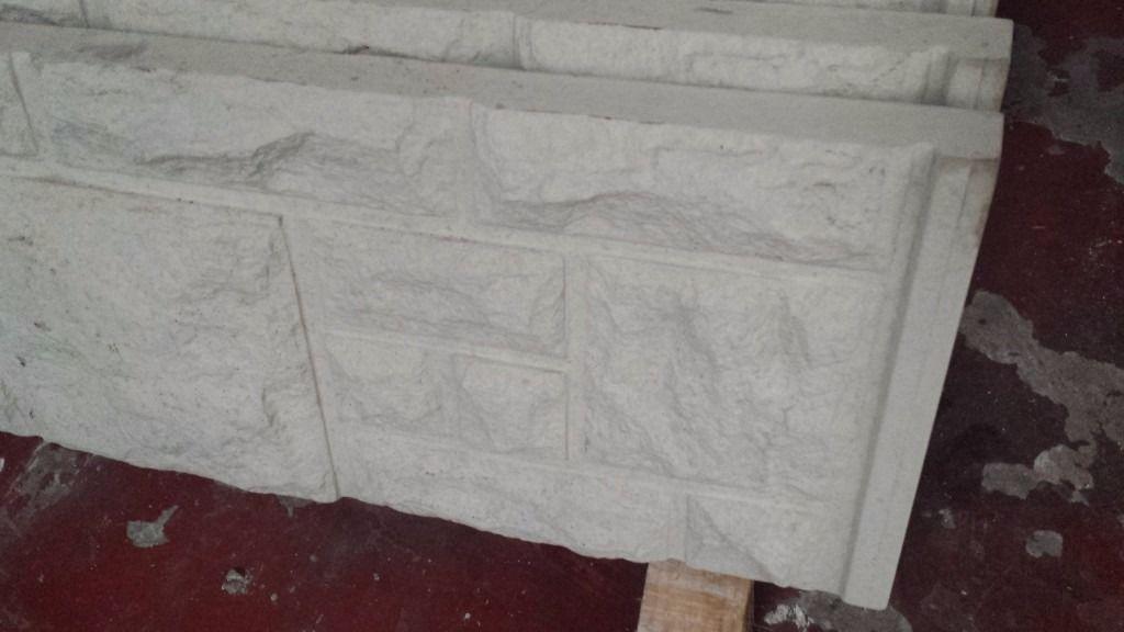 🌟 Concrete Rock Face Fence Base Panels