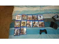 PlayStation 4 for sale with 12 games