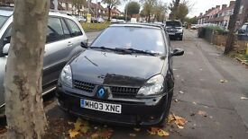Modified renault clio 1.4 8 months mot lots of extras and paper work