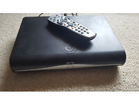 Sky + HD. With original remote and leads.