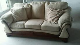 Three and single seater sofa very comfortable
