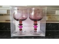 Spectra Wine glasses by Ann Carrie Wiktorsson