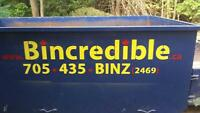 Bincredible bin rentals and junk removal