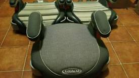3 x Graco Booster Seats