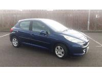 2007(07)PEUGEOT 207 1.4 SPORT MET BLUE,NEW MOT,CLEAN CAR,GREAT VALUE