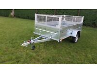 TRAILER WITH MESH 8,7ft × 4,2ft