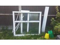 single glazed window unit in good condition. Square 113 x 113 cm
