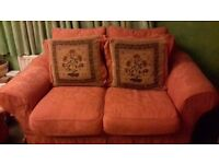 FREE 2 seater sofa. Removable & washable covers. Collection only. Own transport required