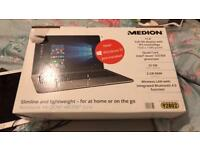Medion akoya laptop netbook Windows 10. Boxed. With carry case