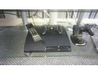 PS3, 2 CONTROLLERS, 20 GAMES, DOCK AND REMOTE