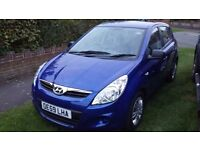 Hyundai i20, 1.2, 59plate 58k 5dr FFSH 12 months mot 1 lady owner. High Wycombe 07714653737