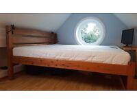 Unique queen size bed/mattress