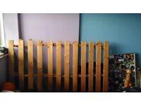 Futon Bed/Sofa (Wooden Frame)