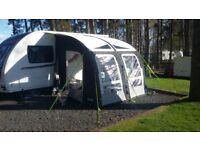 Caravan awning - NEW PRICE - kampa rally air pro 260