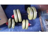 adjustable weights dumbells 15kg