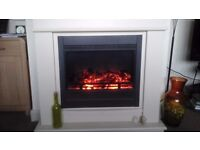 Avalon Electric Fire in Surround.
