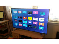"HISENSE 55"" 4K ULTRA HD SMART LED TV (FREEVIEW)"