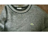 Mens lacoste jumper XL