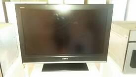 "Sony bravia 32"" lcd television l. Built in freeview"