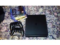 PS 4 500 gb + 2 controllers and games bundle!
