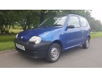 Fiat Seicento 1.1 S 3dr 1 OWNER &ONLY 26000 MILES