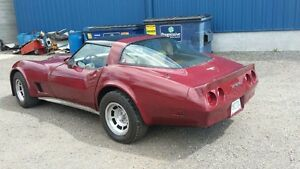 1980 corvette as is